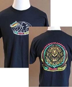 Men's Logo and Lion T-shirt