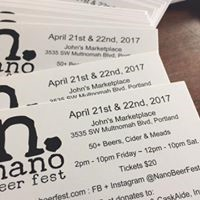 Nano Beer Fest Ticket Image