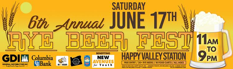 Rye Fest Poster