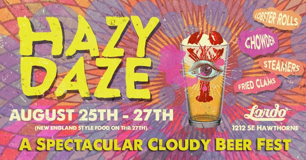 Hazy Daze Flyer