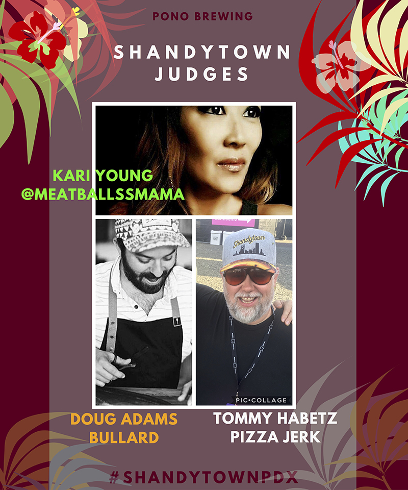 Pono Brewing's Shandytown Judges