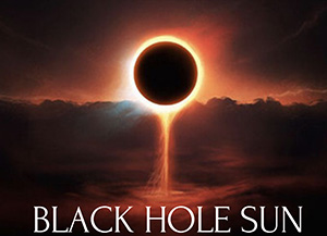 Black Hole Sun Beer Image of an eclipse close up