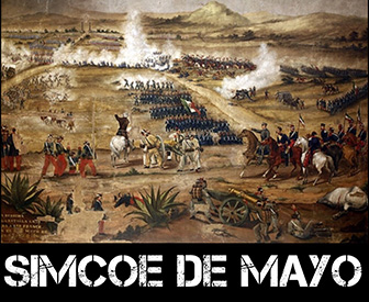 Simcoe de Mayo Image - battlefield painting